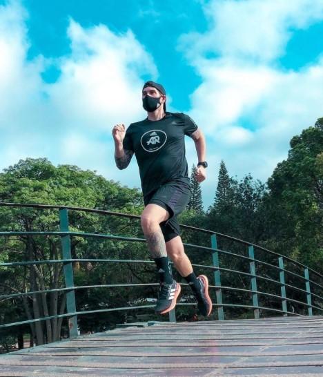 O atleta do Adidas Runners, Bruno Host (Divulgação)