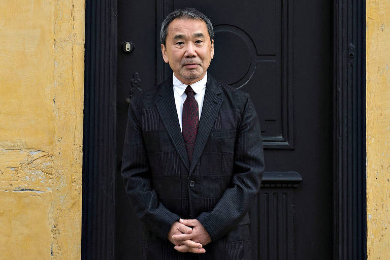 O autor Haruki Murakami em Odense, na Dinamarca (Henning Bagger - 30.out.16/Scanpix Denmark/Reuters)